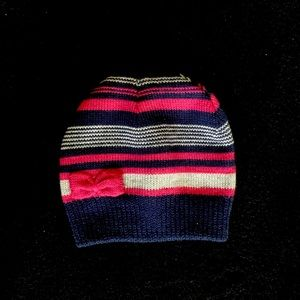 Pink, Blue and Silver Beanie | 54cm Circumference | Miss Understood